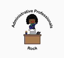 Administrative Professionals Rock (African American) Unisex T-Shirt