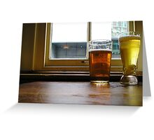 Fancy a pint? Greeting Card