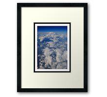 Cumulus Formations Framed Print