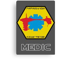 Star Wars Ship Insignia - Medical Frigate Redemption Canvas Print