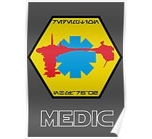 Star Wars Ship Insignia - Medical Frigate Redemption Poster
