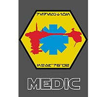 Star Wars Ship Insignia - Medical Frigate Redemption Photographic Print