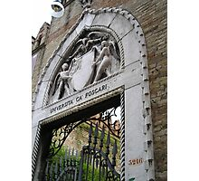 Universita Ca Foscari, Venice Photographic Print