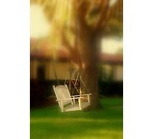 Swing with me Photographic Print