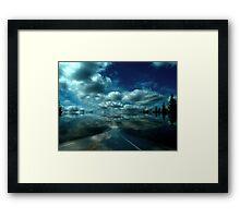 """""""Skyway"""" Framed Print"""