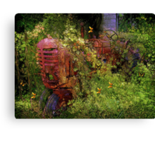 The Iron Ghost Canvas Print