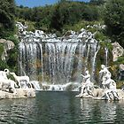 Caserta near Naples by Dale Lockridge