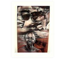 Cultures Apart Art Print