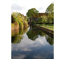 The Great Stour, Canterbury Photographic Print
