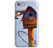Barbed Wire Baffle iPhone Case/Skin