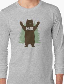 Bear Hug (Light) T-Shirt Long Sleeve T-Shirt