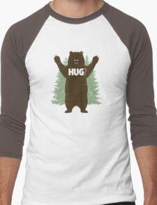 Bear Hug (Light) T-Shirt Men's Baseball ¾ T-Shirt
