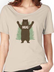 Bear Hug (Light) T-Shirt Women's Relaxed Fit T-Shirt