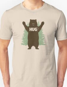 Bear Hug (Light) T-Shirt Unisex T-Shirt