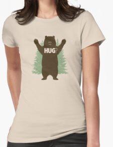 Bear Hug (Light) T-Shirt Womens Fitted T-Shirt