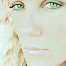 Green Eyed Lady by Bridgette O'Keefe
