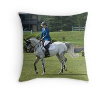 Horse and Rider, Ottawa, ON Throw Pillow