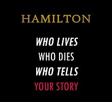 Who lives, who dies, who tells your story? by RandomNormalWit