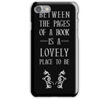 Between The Pages iPhone Case/Skin