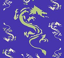 Plethora of Coloured Dragons by Presumably