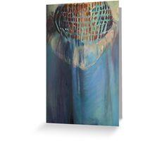 Burqa Greeting Card