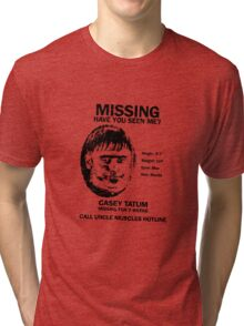 Casey Tatum Tri-blend T-Shirt
