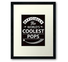 The World's Coolest Pops Framed Print