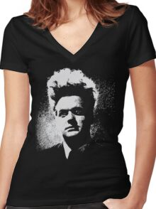 Eraserhead Henry Spencer - Transparent design Women's Fitted V-Neck T-Shirt