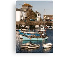 Mevagissey Harbour,South Cornwall Canvas Print