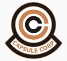 The Capsule Corporation, Orange Logo (Dragonball Z) by CloakAndDaggers
