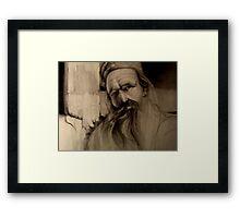 Punjabi man Framed Print