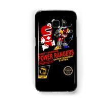 8-bit Power Rangers Samsung Galaxy Case/Skin