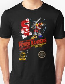 8-bit Power Rangers T-Shirt