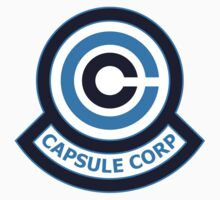 The Capsule Corporation, Blue Logo (Dragonball Z) by CloakAndDaggers