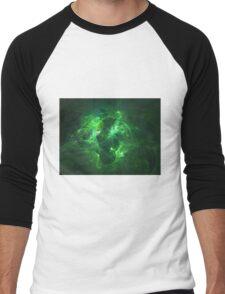 Markings on the Tree People | Fractal Starscape Men's Baseball ¾ T-Shirt