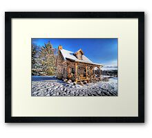 Dream Cabin Framed Print