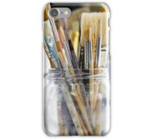 Brushes iPhone Case/Skin
