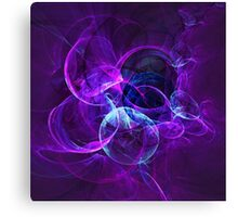 Planetary Gifts From The Universal Light   Fractal Starscape Canvas Print