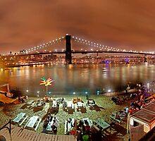 Brooklyn Bridge NY by Tojy George