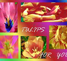 Tulips for You.Collage. by Vitta