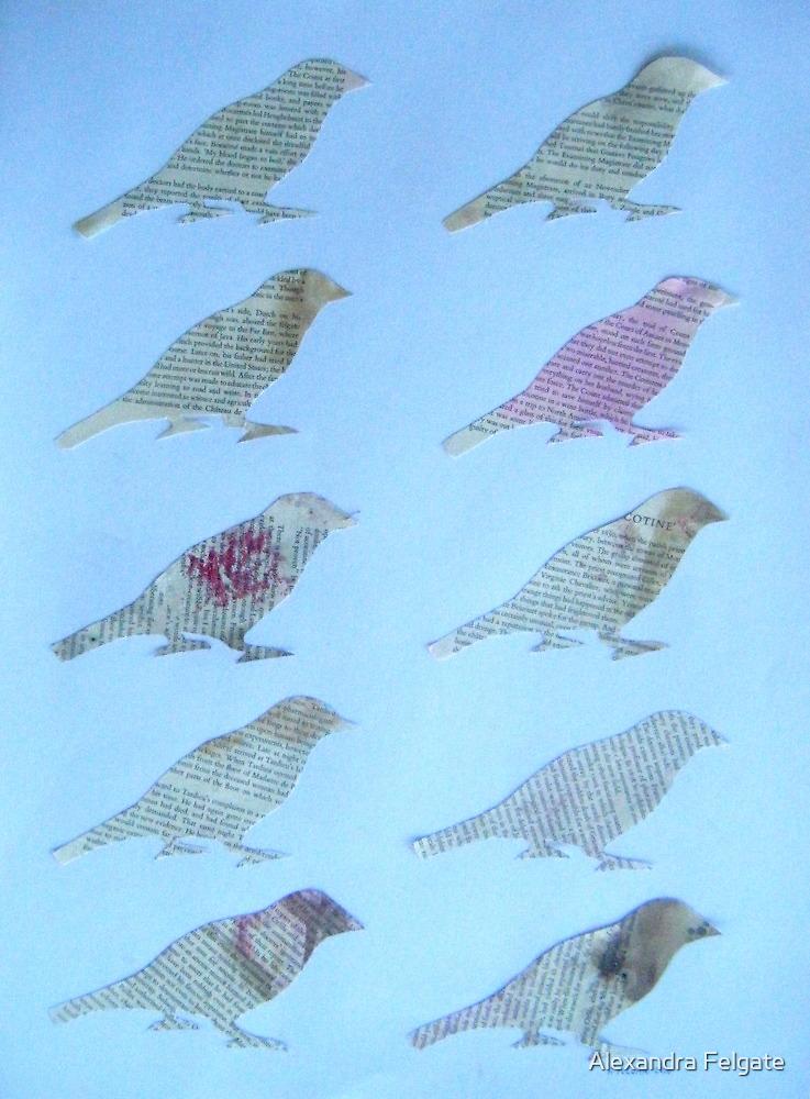 Wordy Birdies by Alexandra Felgate