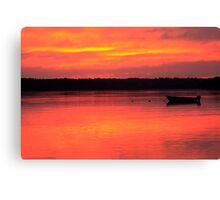 Hadley Point Sunset Canvas Print