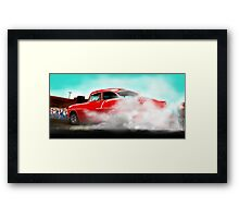 At The Strip in  '62 Framed Print