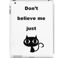 Cat Mars iPad Case/Skin