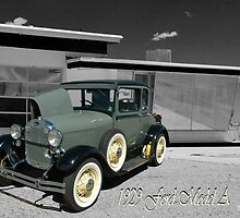 1929 Model A by Holly Werner