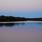 Minimalist Dawn in the Tweed by Graham Mewburn