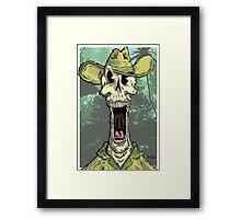 Dead Skipper Framed Print