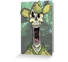Dead Skipper Greeting Card