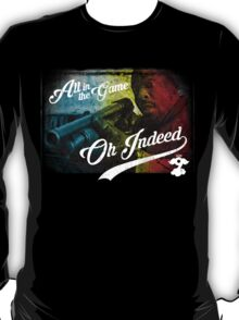 Omar Little - Oh Indeed (Rainbow) - Cloud Nine Edition T-Shirt