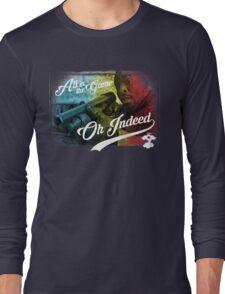 Omar Little - Oh Indeed (Rainbow) - Cloud Nine Edition Long Sleeve T-Shirt